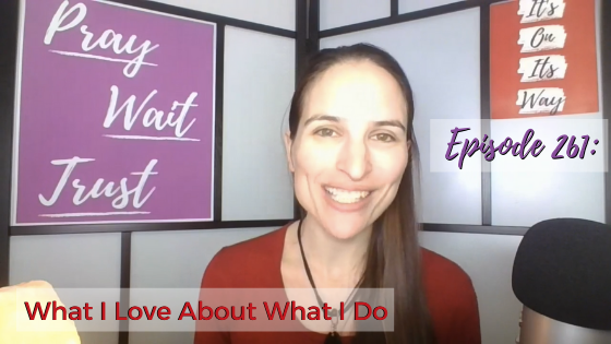 Ep. 261: What I Love About What I Do