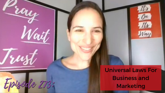 Ep. 273: Universal Laws For Business And Marketing